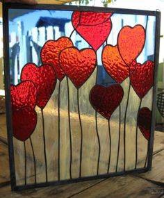 Stained-Glass-Window-Panel-Suncatcher-Love-is-in-the-air