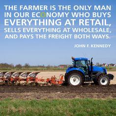 Quote, farming, farmer, farm