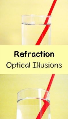 Two super simple light refraction experiments: easy way to bring science to life with your kids!  via @rookieparenting