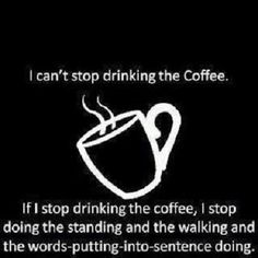 Good morning! The coffee is ready!