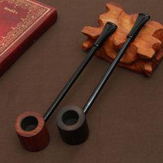 Ebenholz pfeife Rauchen Rohre Tragbare Pfeife Kraut Tabakpfeifen Grinder Rauch Geschenke Schwarz/Kaffee 2 Farben