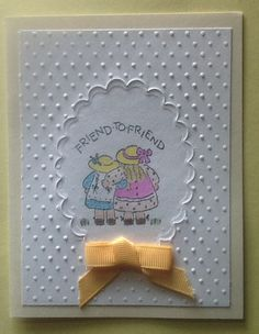 Just because card for a friend
