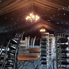 This #Furniture #Friday our Silver Cheltenham Chairs are looking out of this world in Romford for the lovely BSW Marquees.  www.alfrescohire.co.uk 01279 870997  #events #wedding #eventhire #marquee #TGIF #weekend #silver #space