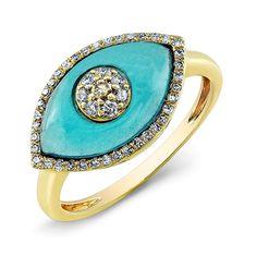 Yellow Gold Blue Topaz Diamond Evil Eye Ring Ring measures approximately in length Gold Jewelry, Fine Jewelry, Topaz Jewelry, Jewelry Rings, Diamond Jewelry, Vintage Jewelry, 77 Diamonds, Pink Gold Rings, Rose Gold