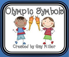 FREE Olympic Symbols Activities...Reading, Social Studies - History, Writing  3rd, 4th, 5th, 6th Activities, Fun Stuff, Printables...This packet includes the following: *12 Trivia Cards Detailing Facts about Olympic Symbols   *Making Inferences  Creating an *Olympic Mascot   *Designing an Olympic Award *Inventing an Olympic Motto