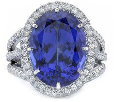 Tanzanite Gemstone Ring - December Birthstone