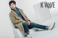 Kim Min Jae is a cutie pie in 'K Wave's March issue | allkpop.com