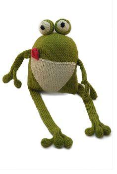 Ravelry: Frankie the Frog pattern by Pattern Recogknition