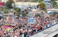 Calles por donde pasará la Virgen del Pino  vuelta a Teror / Foto: José Luis Sandoval