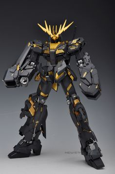 GUNDAM GUY: MG 1/100 RX-0 Unicorn Gundam 02 Banshee - Painted Build