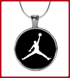 Basketball Dunking Circle Pendant - Basketball shirts (*Partner-Link)