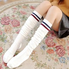 Leg Warmers Underwear & Sleepwears Honest Leg Warmers Women Patchwork Colorful Lengthen Thicker Knitting Womens Leisure High Quality Warm Sweet Kawaii Korean Style Chic