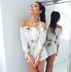 Too cute! 🌸✨ 'Rule Breaker playsuit in blush floral' Shop now via the link in our bio ☝️ Rompers Women, Jumpsuits For Women, Girls Rompers, Romper Outfit, Lace Romper, Jean Romper, Floral Romper, Mode Outfits, Casual Outfits