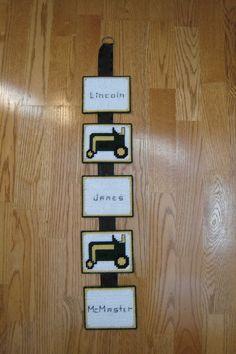 John Deere Name Banner