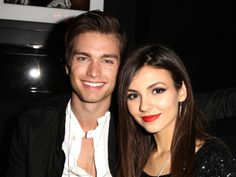 Victoria Justice and Pierson Fode...two beauties