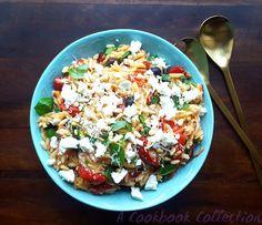 Mediterranean Pasta Salad | A Cookbook Collection
