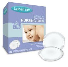 LANSINOH NURSING PADS ULT SOFT 36 Pack of 5 ** See this great product-affiliate link-affiliate link.