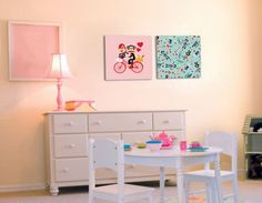 Paul Frank - Paris mon amour picture. Wall art collection by Studio Luka.
