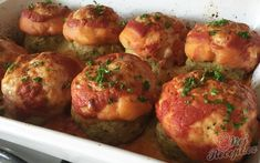 Mozzarella, Good Food, Ethnic Recipes, Author, Top Recipes, Ground Meat, Souffle Dish, Napa Cabbage, Eat Lunch