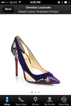 Love for Loubs, Navy