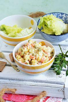 Moja smaczna kuchnia: Sałatka ziemniaczana z majonezem