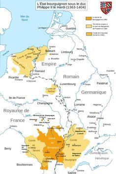 La Bourgogne sous Philippe le Hardi au 14e siècle
