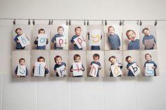 Foto - Geschenk - Idee-DIY- Für Opa-Für Oma-DIY Photo Idea -Grandparents -made by kids- von Kindern