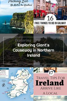 Exploring the Giant's Causeway in Northern Ireland will be the highlight of your journey to the north of Ireland. Free Things To Do, Try Harder, Belfast, Northern Ireland, Exploring, Stuff To Do, Travel Tips, Highlights, Journey