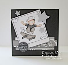 Confessions of a Papersniffer: A Gem of a Challenge DT Card - A Card For a Child