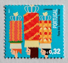 eries of stamps for CTT - correios de portugal. collaboration with whitestudio. photographic work done by A Morsa.