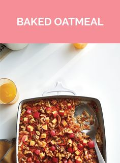 Baked Oatmeal | Get the recipe for Baked Oatmeal.