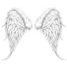 Angel wings tattoos designs pic ❤ liked on Polyvore