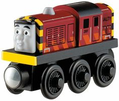 Fisher-Price Thomas & Friends Wooden Railway Salty Engine