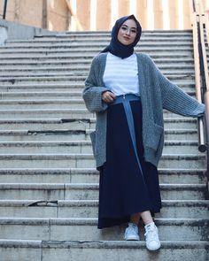 Islamic Fashion, Muslim Fashion, Modest Fashion, Fashion Outfits, Fashion 2015, Hijab Wear, Casual Hijab Outfit, Casual Outfits, Hijab Dress