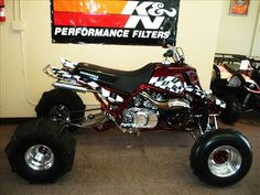 custom banshee | FULL CUSTOM RE-DO ON THIS 1997 YAMAHA BANSHEE, COMPLETE WITH STROKER ...