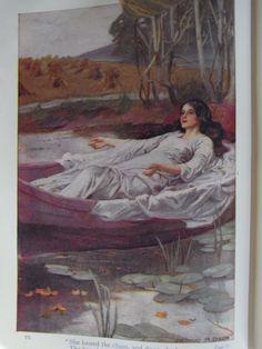 63 Lady of Shalott ideas   the lady of shalott, lady ...