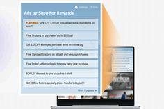 Shop for Rewards est un programme potentiellement indésirable généralement connu comme les adwares, qui s'installe automatiquement sur les navigateurs Internet les plus populaires comme les Google Chrome, Mozilla et Internet Explorer. Généralement, lorsque les utilisateurs téléchargent le logiciel libre à partir de sites inconnus qui favorisent d'installation personnalisés groupés et installent le Shop for Rewards add-on négligente, sans les autorisations des utilisateurs.