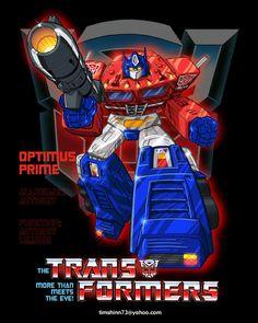 Optimus Prime by timshinn73.deviantart.com on @DeviantArt