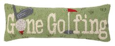 I pinned this Gone Golfing Pillow from the Pillow Talk event at Joss and Main! Pillow Talk, Joss And Main, Decorative Pillows, Golf, Handicraft, Logan, Den, Cottage, Signs