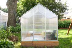 Harbor freight greenhouse, 6' x 8' greenhouse, gardenboxfarms, garden,