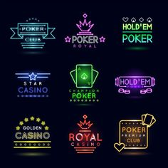Neon casino logo vector set - https://gooloc.com/neon-casino-logo-vector-set/?utm_source=PN&utm_medium=gooloc77%40gmail.com&utm_campaign=SNAP%2Bfrom%2BGooLoc