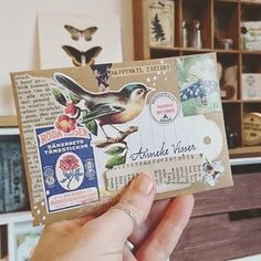 Pen Pal Letters, Cute Letters, Mail Art Envelopes, Snail Mail Pen Pals, Art Postal, Folded Cards, 3d Cards, Envelope Art, Handmade Birthday Cards