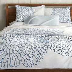 Bloom Duvet Covers and Pillow Shams | Crate and Barrel