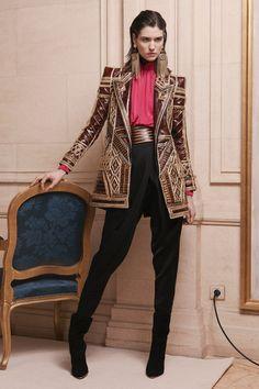 Balmain pre fall, that jacket is fierce!
