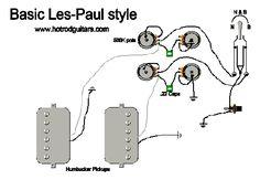 Les Paul Wiring Diagram - http://www.automanualparts.com/les-paul-wiring-diagram/