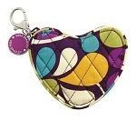 Sweetheart coin purse- Plum Crazy