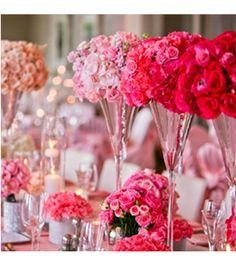 custom wedding table flowers
