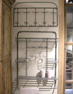 Porte verres pieds coulissant en m tal 10 00 - Rangement pour verres a pied sous etagere ...