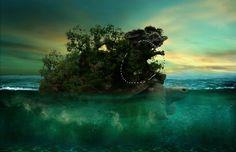Create an Aquatic Photo Manipulation of a Giant Tortoise | PSDFan