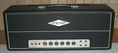 """STRAMP -Peter Struven boutique amp made in Hamburg. Basically 1959 """"Plexi"""" Superbass"""" all point to point by hand in 1976. RORY GALAGHER & LESLIE WEST both used these heads in mid-late 70s."""